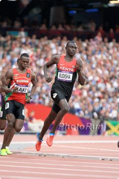 David Rudisha set a world record in the Olympic 800-meter final