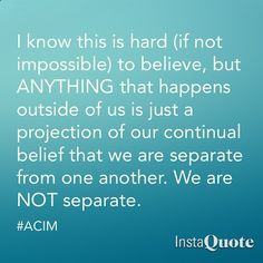 #ACIM A Course in MIracles