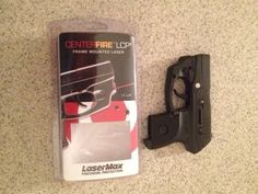 How to Install LaserMax CenterFire Frame Mounted Laser On Ruger LCP 380 - YouTube