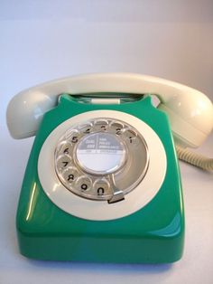 Old telephones from the British General Post Office, circa 1950-60s