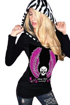 Holy Hell Bombshell Sexy Hoodie