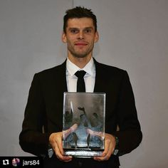#Repost @jars84  Very happy and proud to have been voted as Norwegian player of the year yesterday   Thank you so much to everyone who voted