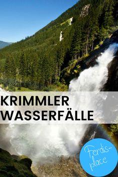 Ein unglaublich beeindruckendes Naturschauspiel bietet sich den Besuchern der Krimmler Wasserfälle. Vom Parkplatz aus führt ein kurzer und kinderwagentauglicher Weg zur ersten Aussichtsplattform. Mit etwas größeren Kids ist die etwa 1,5-stündige Wanderung nach ganz oben auch kein Problem. #Wanderung #Wasserfälle #Salzburg Salzburg, Places, Parking Space, Waterfall, Road Trip Destinations, Lugares
