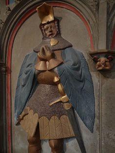 ca. 1411 - 'Friedrich von Sachsenhausen (+1411) and Sophie Schenk von Liebenstein', Basilika St. Kastor, Koblenz, Rheinland-Pfalz, Germany |...