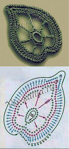 Ирландский мотив - лист 2 - Ирландское кружево