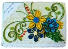 Moje Kreacje - blog Grażyny: Kartka urodzinowa / Birthday Card