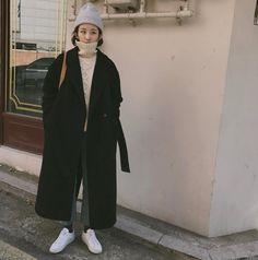 """All day was good"" Womenswear mode style fashion outfit ootd - - Fashion Mode, Korea Fashion, Asian Fashion, Look Fashion, Fashion Outfits, Womens Fashion, Korea Winter Fashion, Fashion 2020, Korean Fashion Trends"