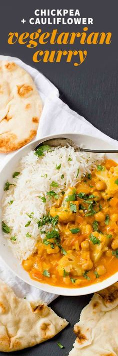 Chickpea and Cauliflower Curry - Cucina de Yung