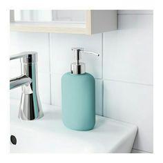 Bathroom Accessories Ikea balungen soap dispenser, chrome plated | beige bathroom, family