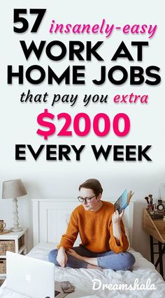 57 Websites That Provide Opportunities To Work From Home Jobs And Earn Money Online – Make Money from Home Work From Home Companies, Online Jobs From Home, Work From Home Opportunities, Online Work, Legit Work From Home, Legitimate Work From Home, Work From Home Jobs, Earn Money From Home, Earn Money Online