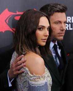 Ben Affleck and Gal Gadot at event of Batman v Superman: Dawn of Justice (2016)