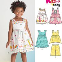New Look 6441 Pattern ( Size 1/2-1-2-3-4 )