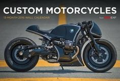 Bike EXIF Custom Motorcycle Calendar 2016 by Chris Hunter