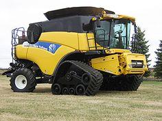 ATI tracks for combine harvesters.