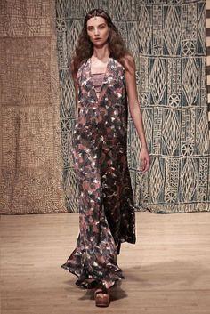 Tia Cibani Spring 2015- printed dress
