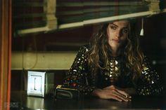 Elisa Sednaoui Gets Cinematic for Peter Lindbergh in Vogue Italia September 2012