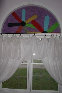 The Missing Piece: 1/2 Circle Window Covering - $10.00