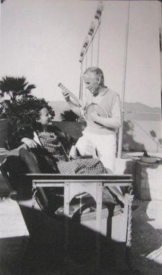 Charlie Chaplin + Paulette Goddard