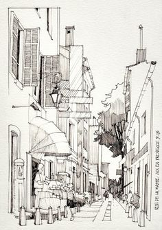Jorge Royan_watercolor paintings_city-art__urban sketch_акварель_город~