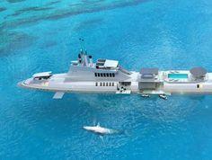 تحالفت شركة صناعة يخوت نمساوية يطلق عليها MIGALLO مع عدة شركات تصميم للعمل على مشروع يطلق عليه بـthe MIGALOO submarine super yacht.  المشروع هو