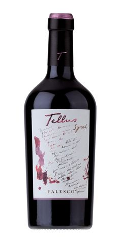 This is an example of how the Falesco family appreciates art and integrates it into their bottle designs.