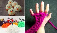15 idées d'activités créatives pour les enfants avec des fils de laine