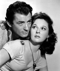 "Gregory Peck and Susan Hayward in ""David and Bathsheba"""
