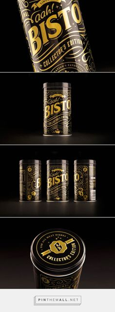 Bisto Collectors Tin packaging designed by Robot Food - http://www.packagingoftheworld.com/2015/09/bisto-collectors-tin.html