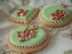 dulce y algo salado-cursos de galletas decoradas: Galletas...muy primaverales!!!!