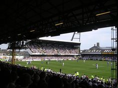 """Take me to the Vetch Field, way down by the sea."" The hallowed turf as seen from the North Bank - nothing used the beat the North Bank rocking under the floodlights. The Vetch Field, Swansea City English Football Stadiums, Sir Alex Ferguson, Sports Stadium, European Football, Swansea, Good Times, Dolores Park, Soccer, Welsh"