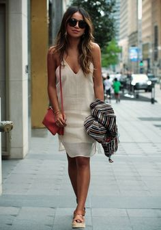 23 Slip Dress Outfit For 2017 Summer | Latest Outfit Ideas