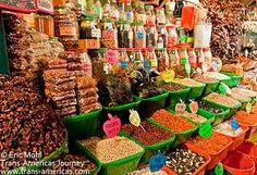 Oaxacan spice market in the epicurean capital of Mexico.