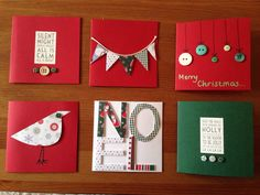Homemade Christmas cards we are doing these in teaming leaders and we are sending them to people over seas and to the elders of the U.P.