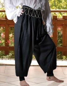 Made using Rayon Viscose fabric, the Harem Pants have broad fittings from the hips. Find more designs of man & women medieval pants, Extra Small Harem Pants, medieval skirts and medieval costumes at attractive prices. Renaissance Skirt, Renaissance Costume, Medieval Costume, Renaissance Pirate, Renaissance Wedding, Medieval Pants, Medieval Clothing, Black Harem Pants, Couture