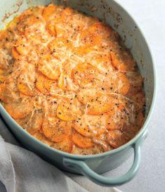 Houghton Mifflin Harcourt — Lightened-Up Sweet Potato Gratin