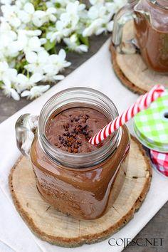Super szybkie śniadanie: koktajl czekoladowy | Zdrowe Przepisy Pauliny Styś