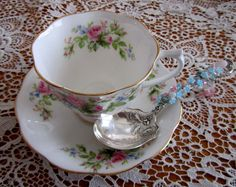 Tea Cup and Spoon for Melanie | Kris hosted this wonderful s… | Flickr - Photo Sharing!