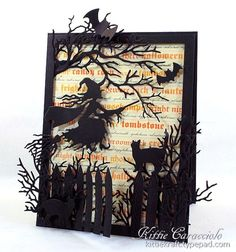 Impression Obsession Ghoulish Greetings Challenge