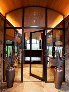 Before you buy new doors, learn the pros and cons of different types of doors, the various styles and latest trends from DIYNetwork.com.