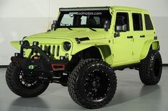 2014 Jeep Wrangler Unlimited SEMA Build in Dallas, Texas