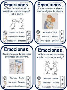Spanish Teaching Resources, Spanish Lessons, School Resources, Behavior Management, Classroom Management, Sensory Integration, Spanish Classroom, Les Sentiments, Emotional Intelligence