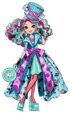 Madeline Hatter. Way to Wonderland. Profile art PNG