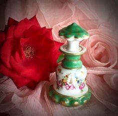 Paris France Vintage Porcelain Perfume by CoCoBlueTreasures