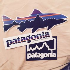 Thanks to Patagonia for sending me these adorable stickers! Love their products!