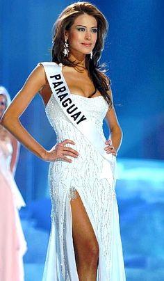 prettiest woman in my eyes, miss paraguay yanina gonzales
