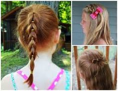 easy hairstyles - Google Search