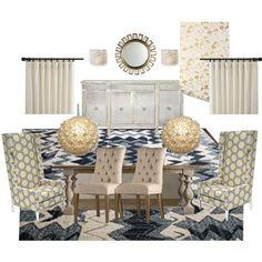 Formal Dining Room Mood Board
