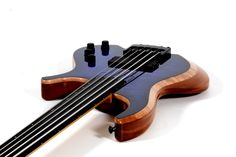 Dreamer HB-5 Fretless Bass I made for The Holy Grail Guitar Show 2016