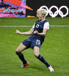 Megan Rapinoe- this is how I feel about yesterday's win too!