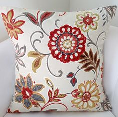 Fall Pillow Cover,  Spice Orange Pillow, Throw Pillow, Cushion, Accent Pillow, Decorative Pillow by nestables on Etsy https://www.etsy.com/listing/248869449/fall-pillow-cover-spice-orange-pillow